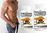 immagine prodotto CURCUMINA Plus 95% potenziata con PIPERINA (60 CPR) per la perdita di peso - 20 VOLTE PIU' EFFICACE! Prodotto ITALIANO