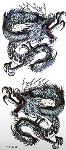 YiMei étanche sexy autocollant peint totem tatouage de
