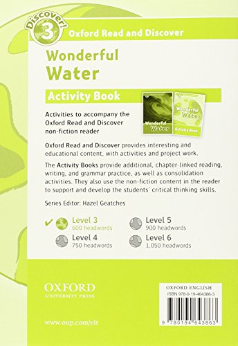 Oxford Read and Discover 3. Wonderful Water Activity Book