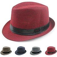 Sunbohljfjh Sombrero Casual para Hombres y Mujeres al Aire Libre Sombrero para el Sol 56 * 58cm