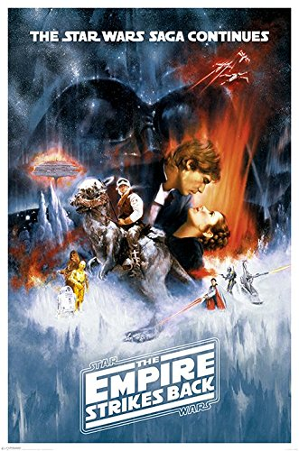 Star Wars Poster Pack The Empire Strikes Back 61 x 91 cm (5) Pyramid International