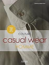 Couture Casual Wear Homme - Patrons à taille réelle 36 à 46