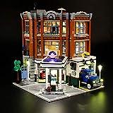 LIGHTAILING Licht-Set Für (Creator Expert Eckgarage) Modell - LED Licht-Set Kompatibel Mit Lego 10264(Modell Nicht Enthalten)