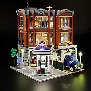 LIGHTAILING Set di Luci per (Creator Expert Corner Garage) Modello da Costruire - Kit Luce LED Compatibile con Lego…  LEGO