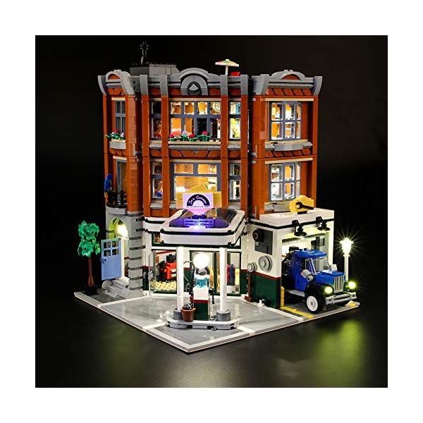 LIGHTAILING Set di Luci per (Creator Expert Corner Garage) Modello da Costruire - Kit Luce LED Compatibile con Lego… 1 spesavip