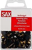 SAX Reißnägel schwarz