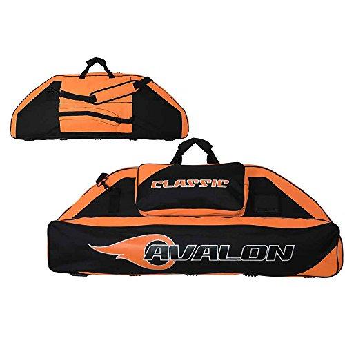 AVALON Classic - 116 cm - Compoundbogentasche mit Rucksackfunktion schwarz-orange