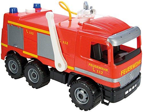 Simm 02058 - Camion dei pompieri, portata massima 50 kg, lunghezza 65 cm, cisterna da 1,5 l