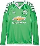 Adidas MUFC a GK jSY y Maillot Maillot Gardien MANCHESTER UNITED FC, Enfants XXXL vert / blanc (verene / blanco)
