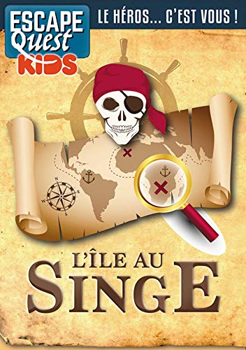 Escape Quest hors-série Kids 1: L'île au singe par  (Broché - Jun 26, 2019)