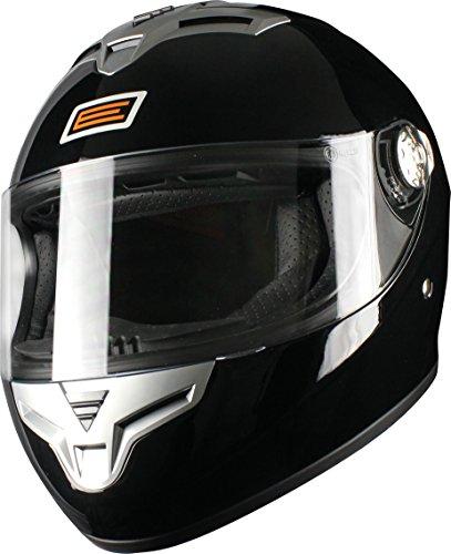 Origine Helmets Golia Casco Integrale, Nero Brillante, L