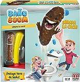 Mattel Games Baño Boom, ¡Atrapa la Caca!, juego de mesa infantil (Mattel FWW30)