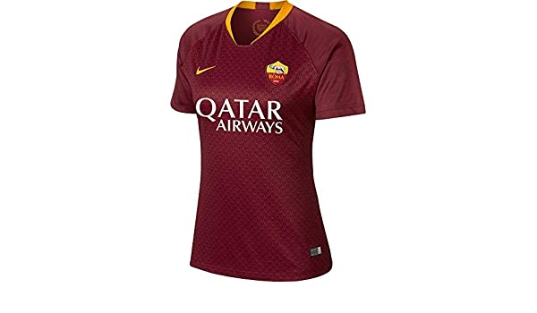 325b88599 Nike 2018-2019 Roma Home Ladies Shirt  Amazon.co.uk  Sports   Outdoors