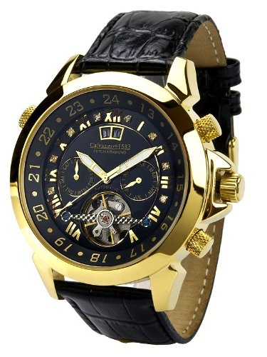 Calvaneo - Calvaneo Astonia Black Diamond Gold - Mixte - Noir