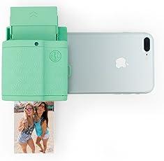 Prynt Pocket mintgrün, kompakter iPhone Fotodrucker, Sofortbildkamera