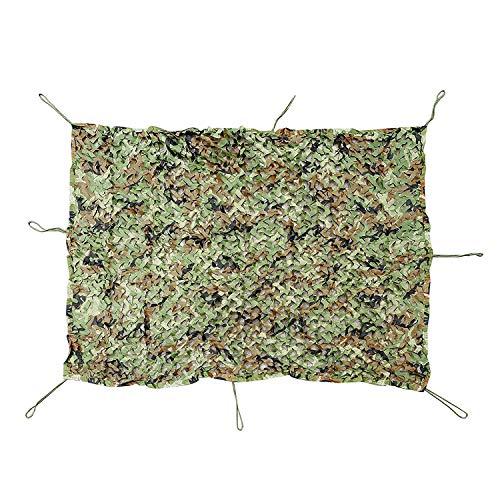 Beschattungsnetz QINGJIU sonnensegel Camouflage Netting für Dens Hide Schlafzimmer Camouflage Net Armee Camo Netting Oxford Stoff ideal für Sonnenschutz Zelt Camping (Size : 2x8M)