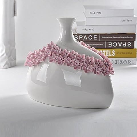 Fatte a mano high-end di vasi di ceramica, accessori per la casa e regali creativi,32*17*16cm
