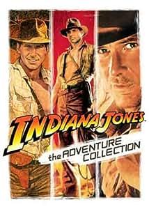 Indiana Jones: The Adventure Collection (Raiders of the Lost Ark, Temple of Doom & Last Crusade) [DVD]