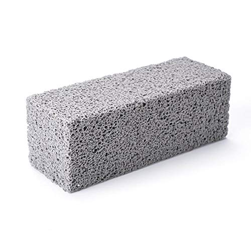 MonLook 3-teiliger Grill-Reinigungsstein Magic Stone für die schnelle Reinigung des Grillrosts -