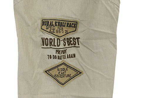 Exklusives Hemd von Kitaro --- Desert Rally --- Extra Lang (Tall) Sand