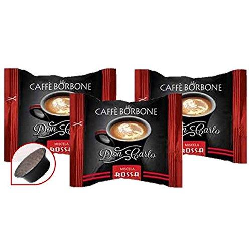 300 capsule compatibil lavazza a modo mio caffe' borbone don carlo miscela rossa