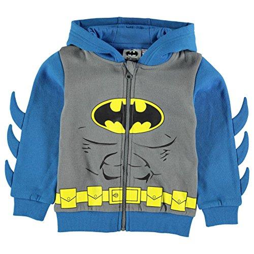 Character bambini ragazzo felpa con cappuccio giacca con cappuccio felpa con cappuccio Batman 7-8 Anni