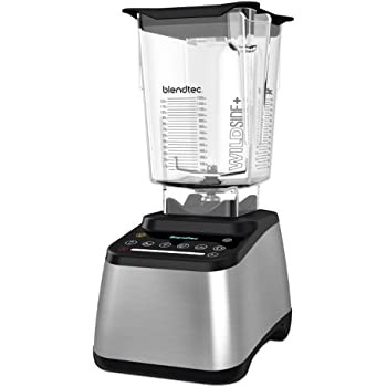 Blendtec Designer 725 Metallic inkl. WildSide+ Jar - Hochleistungsmixer / Blender (Farbe: Metallic)