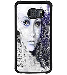 ColourCraft Amazing Art Design Back Case Cover for SAMSUNG GALAXY S6