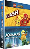 Les Films Lego DC Comics - Aquaman et The Flash - 2 Films - Coffret DVD
