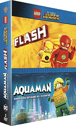 Coffret lego 2 films : aquaman ; the flash [FR Import]
