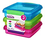 Best Thermos Lunch Boxes For Boys - Sistema Lunch Sandwich Box, 450 ml-Assorted Colours Review