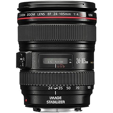 Canon EF 24-105mm f/4.0 L IS USM - Objetivo para Canon (distancia focal 24-105mm, estabilizador) color