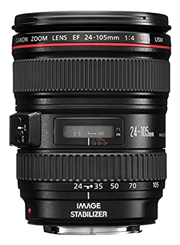 Canon EF 24-105 mm 1:4.0 L IS USM Objektiv (77 mm Filtergewinde, Original Handelsverpackung) (Objektiv Is)