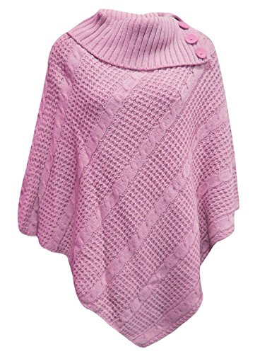 COMFYLOT LIMITED - Poncho -  donna Baby Pink