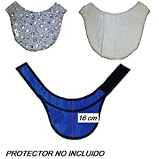 Funda PROTECTOR DE TIROIDES 16 cm aprox. Radiología, Rayos X, Enfermería. Zona.