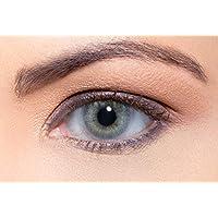 Solotica Hidrocor Quartzo - lentillas de colores mensuales sin doprtías - 1 par (2 undidades)