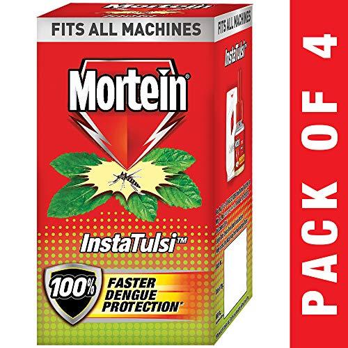 Mortein Insta5 Vaporizer Refill, Tulsi - 35 ml (Pack of 4)