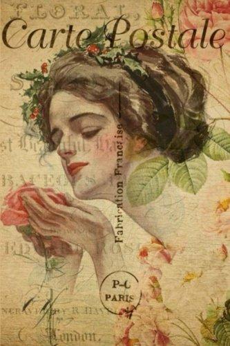 Carte Postale - Lady With Flower - Paris - Journal - 6