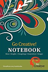 Go Creative! Notebook: 100 Page Notebook