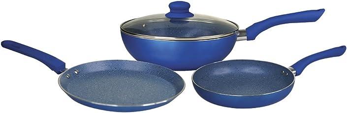 Wonderchef Royal Velvet Plus Induction Base Cookware Set, 4-Pieces