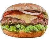 Bada Bing Kissen Fastfood HAMBURGER Burger Cheeseburger Imbiss Junk Food Deko Zierkissen 039