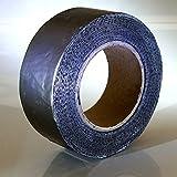 Klimapartner KSBB - Cinta de butilo 50 mm x 10 m x 0.08 mm - Interior y al aire libre impermeable cinta de sellado extensible | Conductos herméticos