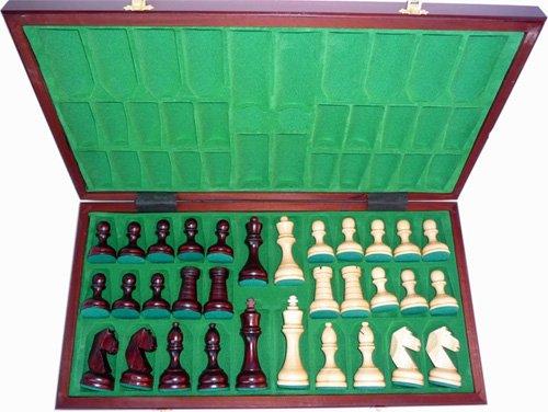 ChessEbook-Turnier-Schachspiel-Staunton-Nr-8-55-x-55-cm-Holz