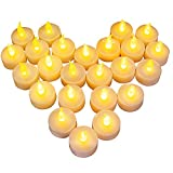 24 LED Kerzen, Diyife LED Flammenlose Tealights,...