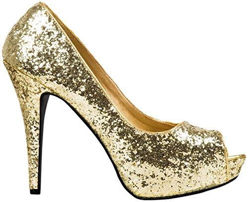 Preisvergleich Produktbild Boland Schuhe Allure gold