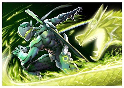 Poster Overwatch - Genji A3 (42x30 cm) B