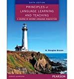 [(Principles of Language Learning and Teaching)] [Author: H.Douglas Brown] published on (January, 2014)