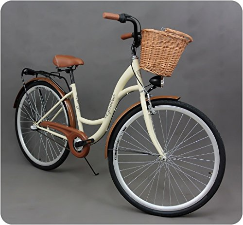 711-cm-femme-velo-de-ville-style-vintage-dutch-town-velos-panier-en-osier-neuf-creme