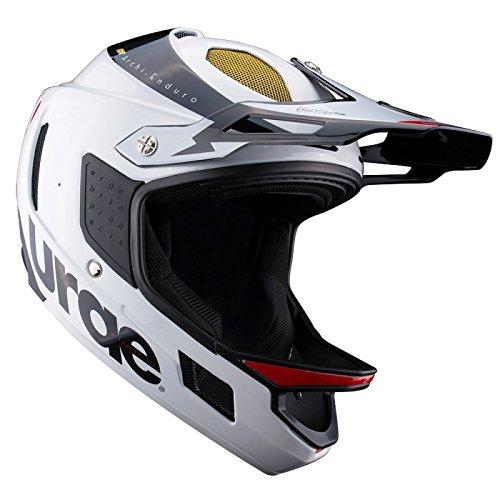 Urge Archi Enduro RR Mountainbike-Helm, Unisex L weiß/schwarz Preisvergleich