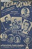 La fiesta de Grenade - Paso doble créé et enregistré par Etienne Lorin, Pierre Malar, Patrice et Mario, André Vermal, Tony Villard, Janine Walter, Robert Buguet
